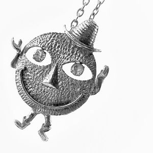 Humpty Dumpty Charm Necklace